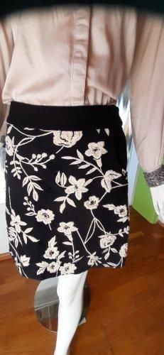 Derhy Miniskirt black-cream