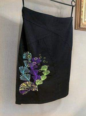 St-martins Jupe crayon multicolore tissu mixte