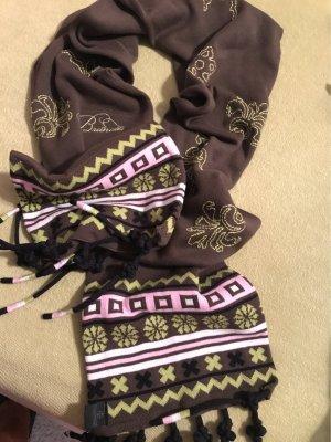 Bestickter Schal von Brunotti doppelseitig