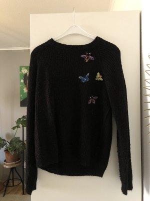 Brave Soul Maglione lavorato a maglia nero