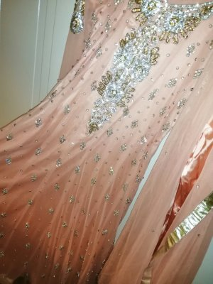 Besticktes Bollywood Kleid