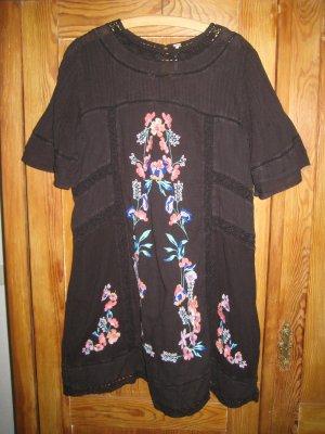 Free People Sukienka boho Wielokolorowy Bawełna