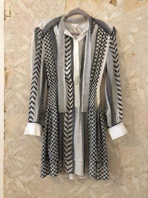 Lala Berlin Longsleeve Dress white-black