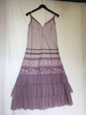3suisses Szyfonowa sukienka Wielokolorowy