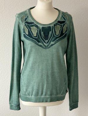 Besticktes Sweatshirt von Garcia, NEU, Größe M