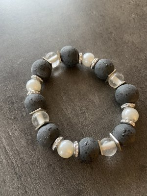 Beton/Perlen Armband