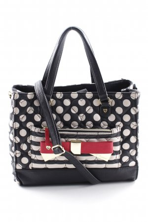 Betsey Johnson Carry Bag spot pattern casual look