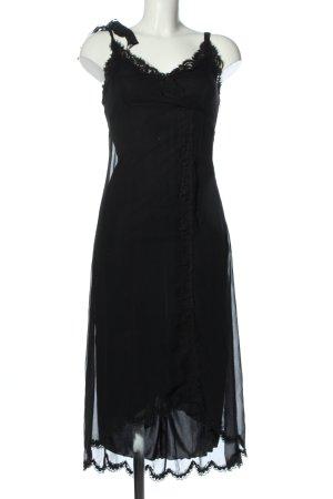 Betsey Johnson Midikleid schwarz Elegant