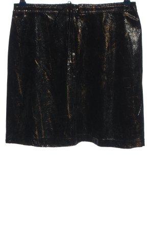 Betsey Johnson Miniskirt black-bronze-colored allover print elegant