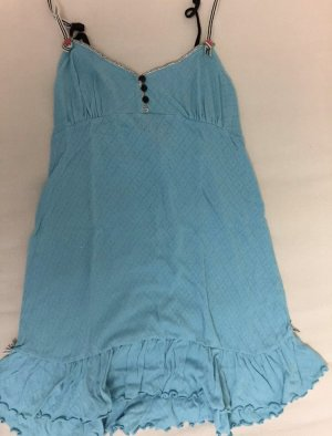 Betsey Johnson Negligee light blue mixture fibre
