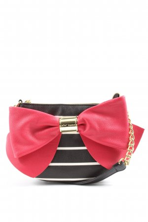 Betsey Johnson Shoulder Bag striped pattern casual look