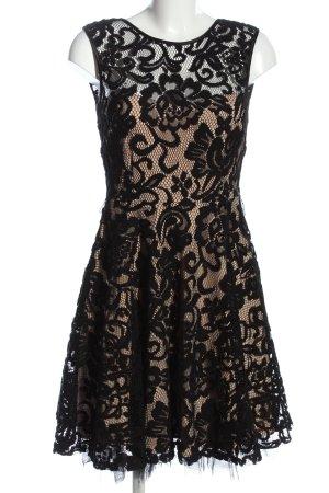 Betsy & Adam Kanten jurk room-zwart elegant