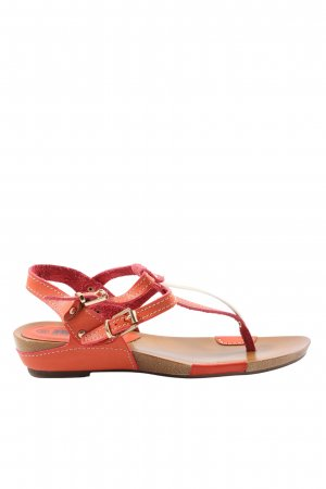Betsy Dianette Sandals light orange casual look