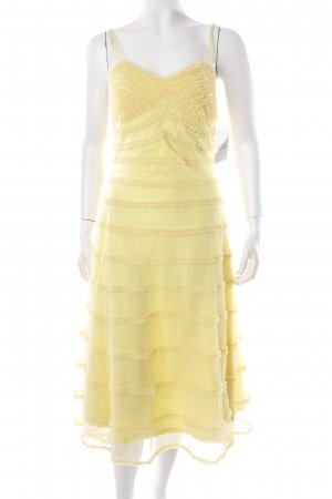 Betsy Johnson Cocktailkleid gelb extravaganter Stil