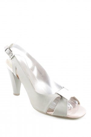 Betsy Strapped High-Heeled Sandals pink-grey brown elegant
