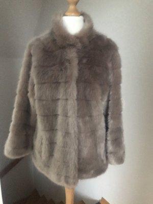 Betta Corradi Fake Fur Jacket multicolored