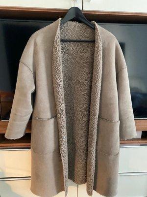 Betta Corradi Oversized jas beige-camel