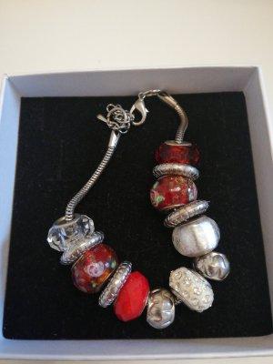 Bracelet à breloques multicolore