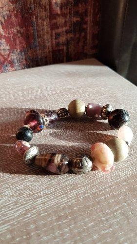 keine Marke Brazalete de perlas multicolor vidrio