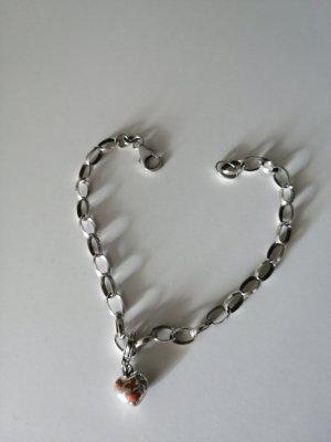 Bettelarmband inkl. Anhänger (925 Silber)