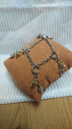 Charm Bracelet silver-colored-gold-colored