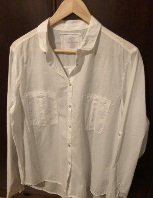 Better Rich Long Sleeve Blouse white