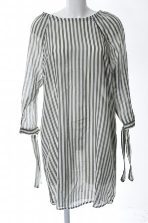 Better Rich Blouse Dress light grey-khaki allover print casual look