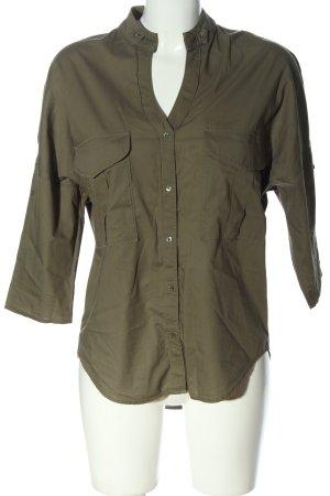 Better Rich Hemd-Bluse khaki Business-Look
