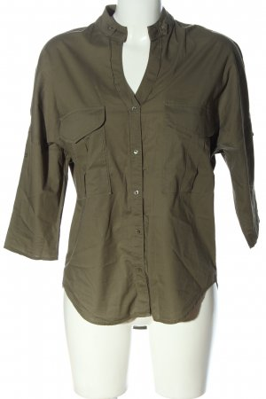 Better Rich Hemdblouse khaki zakelijke stijl