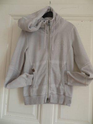 Better Rich Hoody light grey cotton