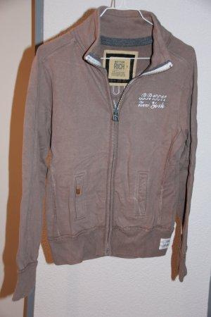 Better Rich Sweat Jacket sand brown