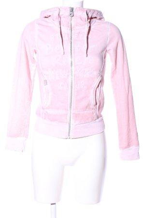 Better Rich Veste à capuche rose style décontracté