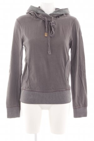 Better Rich Hooded Sweatshirt light grey casual look