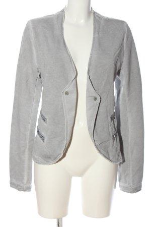 Better Rich Short Blazer light grey flecked casual look