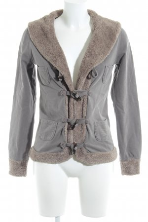 Better Rich Short Jacket grey brown-light brown casual look