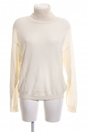 Better Rich Turtleneck Sweater natural white casual look