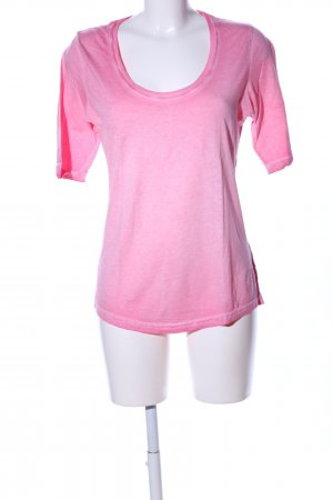 Better Rich Rundhalspullover pink meliert Casual-Look
