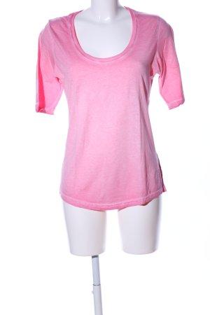 Better Rich Kraagloze sweater roze gestippeld casual uitstraling