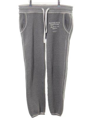 Better Rich Jersey Pants dark grey casual look