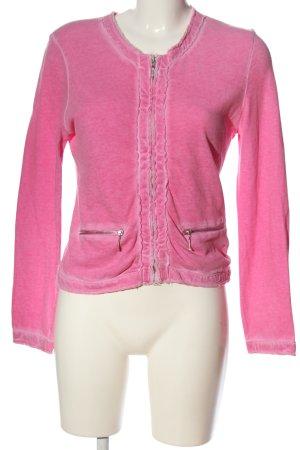 Better Rich Cardigan tricotés rose moucheté style décontracté