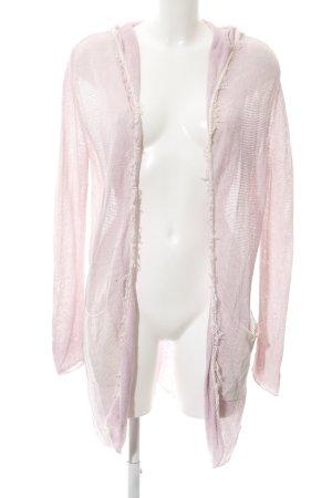 Better Rich Cardigan tricotés rose-rosé style décontracté