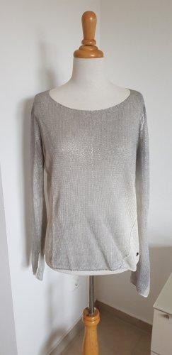 Better Rich Maglione lavorato a maglia argento-grigio chiaro