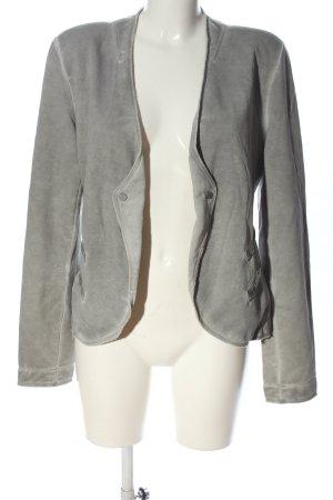 Better Rich Knitted Blazer light grey casual look