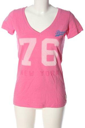 Better Rich T-shirts en mailles tricotées lettrage imprimé style décontracté