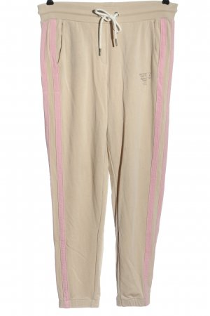 Better Rich Pantalón deportivo crema-rosa look casual