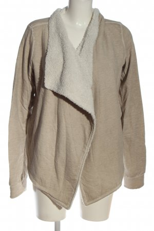 Better Rich Sweat Jacket natural white-cream flecked casual look