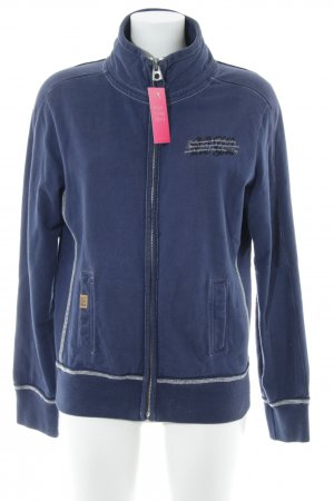Better Rich Sweat Jacket steel blue-natural white casual look