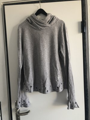 Better Rich Hooded Sweatshirt light grey-black