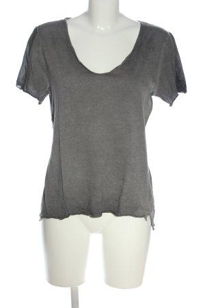 Better Rich T-shirt gris clair moucheté style décontracté