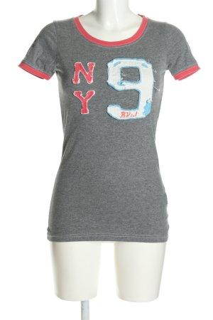 Better Rich T-Shirt Schriftzug gedruckt Casual-Look
